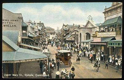 Did you know that Gympie was known as Nashville until 1868?