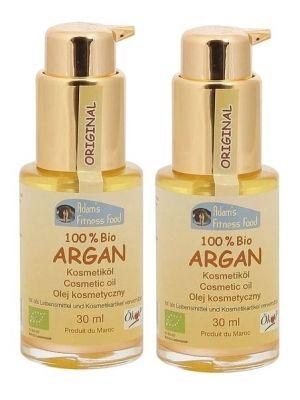 Zestaw 2x  ADAMS FITN 30ml Olej arganowy kosmetyczny  • uniwersalne zastosowanie • dobry środek do masażu ciała • nawilża i ujędrnia skórę • produkt ekologiczny