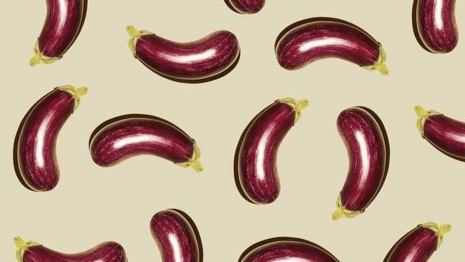 Gevulde paprika met witte bonen en aubergine
