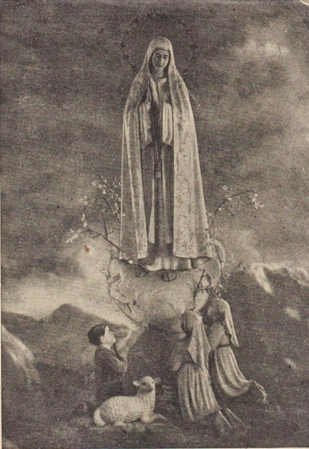 The Miracle Of The Doves The Statue Of Our Lady Of Fatima Left