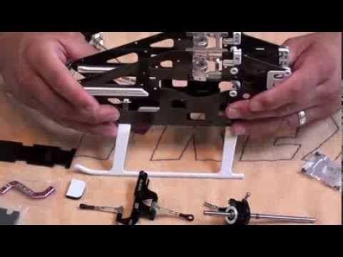 Trex450L Dominator Frame Assembly Part 1 of 2