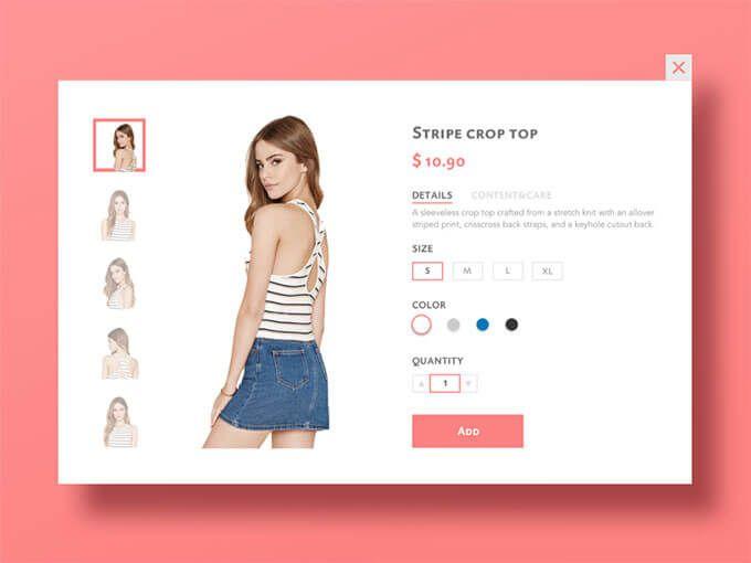 stripe-crop-top