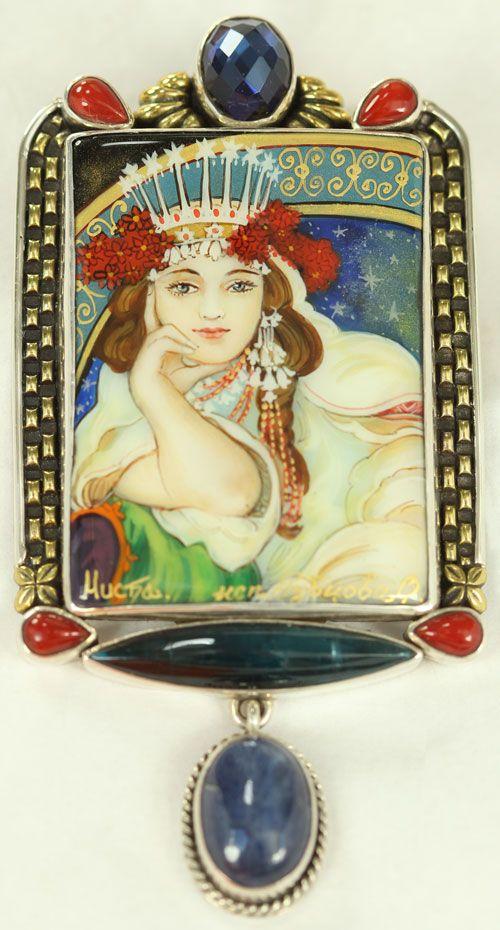 Princess Hyacinth Pin-Pendant