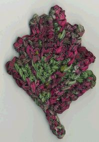 Corrugated Leaf from Crochet Bouquet