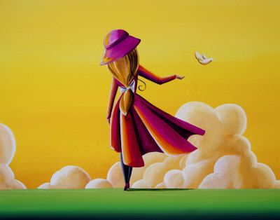 Whimsical Girls Collection - Cindy Thornton Art