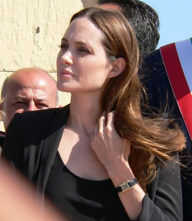 Angelina Jolie Cartier Watch