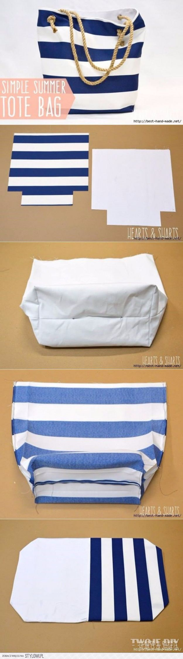 DIY Bags for Summer - DIY Fabric Basket - Easy Ideas to Make for Beach and Pool - Quick Projects for a Bag on A Budget - Cute No Sew Idea, Quick Sewing Patterns - Paint and Crafts for Making Creative Beach Bags - Fun Tutorials for Kids, Teens, Teenagers, Girls and Adults http://diyprojectsforteens.com/diy-bags-summer