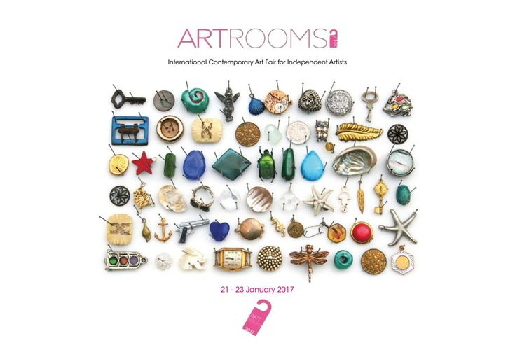 Catalogue of the 3 Edition of ARTROOMS 2017 - International Contemporary Art Fair for Independent Artists