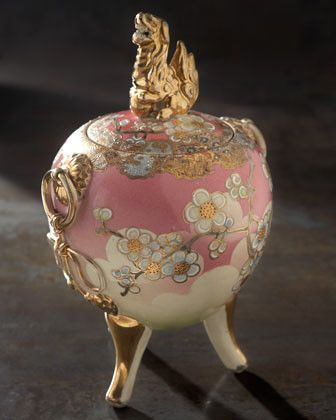 Simply pretty - Pink Perfume Burner, c. 1900 traditional home fragrance
