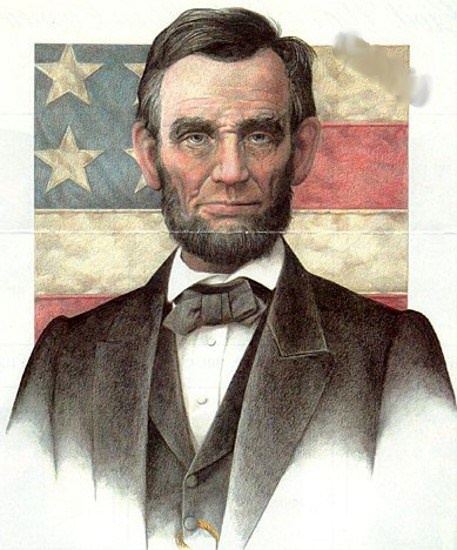 Abraham Lincoln 16th President of United States of America