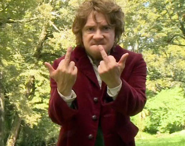 Bilbo the Hobbit - Communication