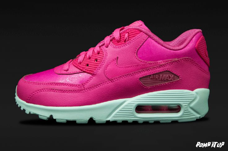 Nike Air Max 90 LTR  (PINK POW/ PINK POW-WHITE) For Kids Sizes: 35.5 to 40 EUR Price: CHF 130.- #Nike #AirMax #AirMax90 #AirMax90LTR #NikeAirMax #Sneakers #SneakersAddict #PompItUp #PompItUpShop #PompItUpCommunity #Switzerland