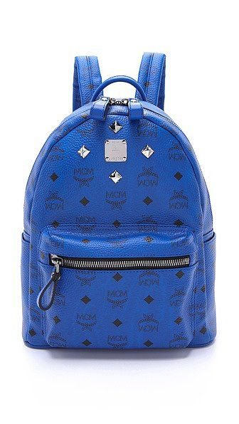 MCM Stark Sprinkle Stud Small Backpack. bag, сумки модные брендовые, bag lovers,bloghandbags.blogspot.com
