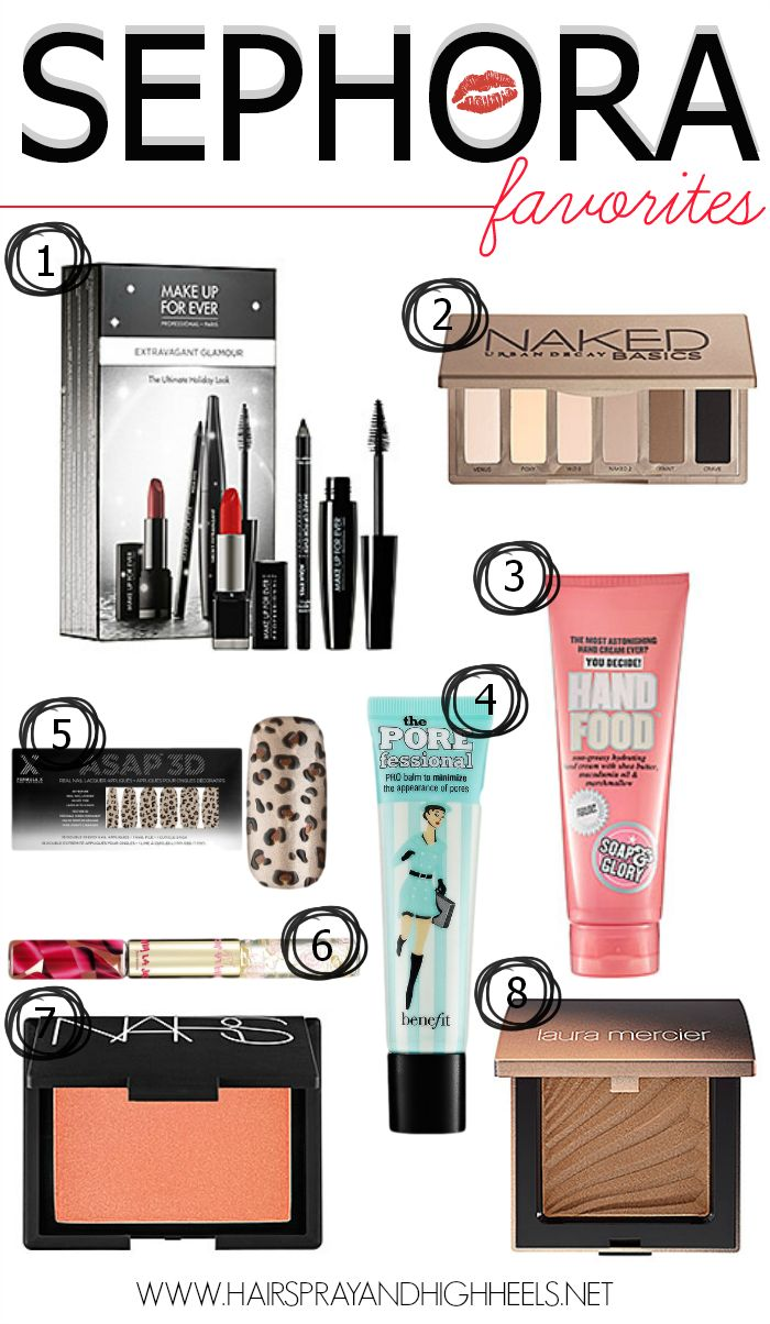 Best Sephora Products via www.hairsprayandhighheels.com