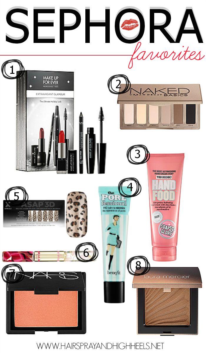 Best Sephora Products via www.hairsprayandhighheels.com