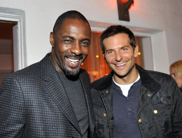 Pin for Later: Everyone Wants a Piece of Idris Elba With Bradley Cooper