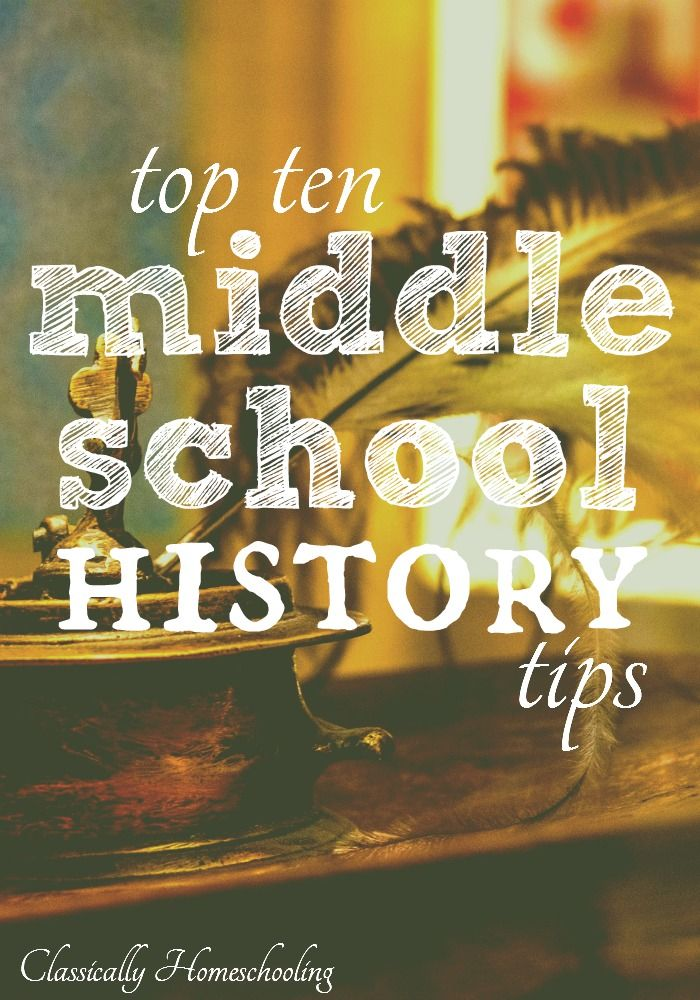 Are you teaching middle school history? Middle school history is a easy and fun to teach using these ten tips.