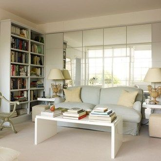 Designer Ann Boyds Tiny London Pied Terre Is Packed With Useful Ideas Small Living RoomsLiving Room