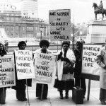 ANC women in solidarity protest for Winnie Mandela