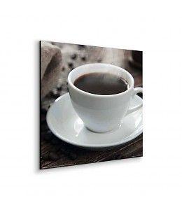 Schilderij Zwarte Koffie