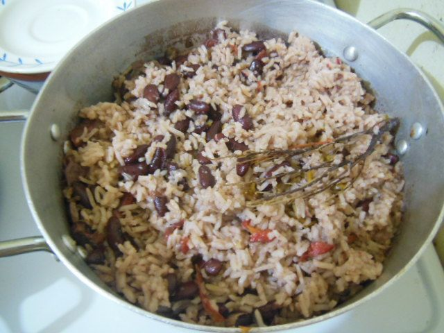 Jamaican Rice and Peas | Foods | Pinterest