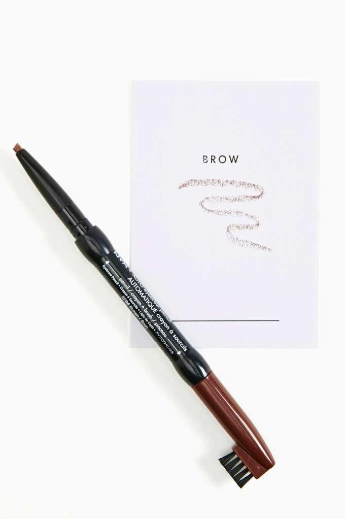 NYX Auto Eyebrow Pencil - Brown