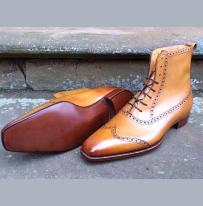 Shoes Men Ankle Leather Boots for mens Men's Formal Shoes