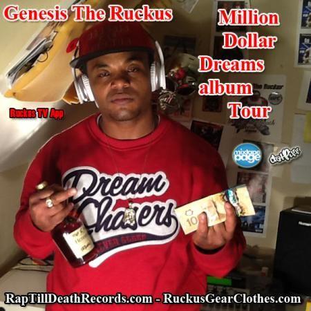 Sunday 07/13 - Ruckus - Million Dollar Dreams Album Tour @ Vapor Central, Toronto