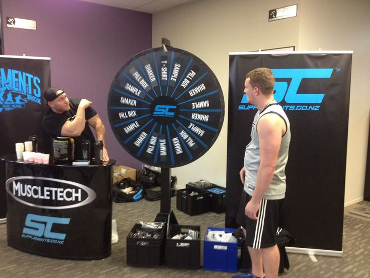 Spin the wheel at Anytime Fitness Henderson.