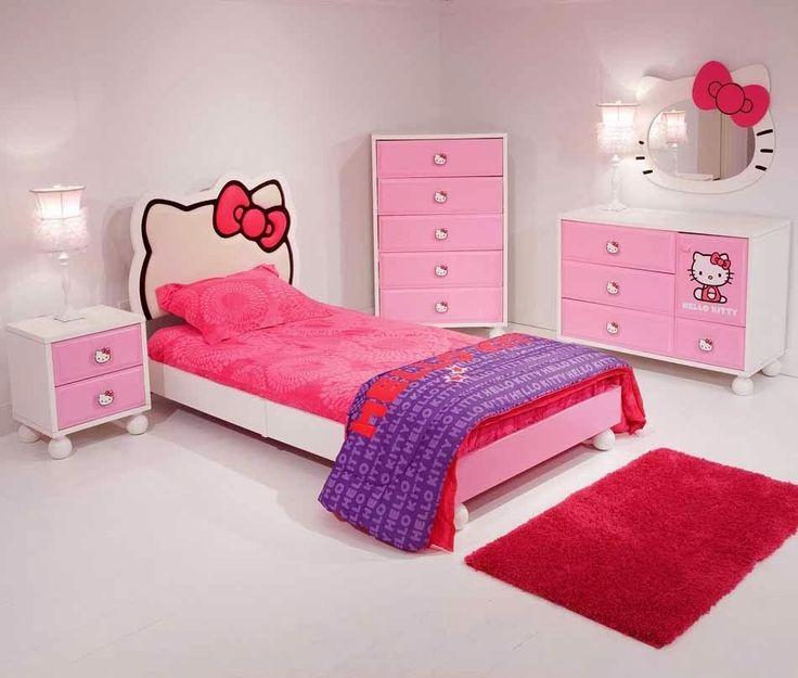 Desain Kamar Tidur Anak Perempuan Yang Keren