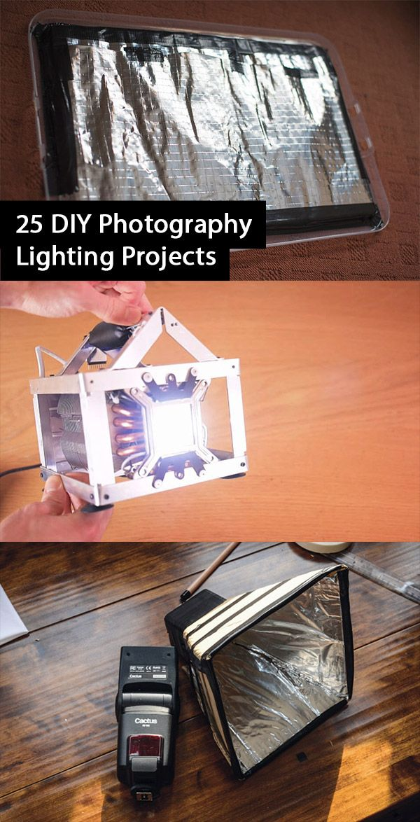 25 DIY Photography Lighting Hacks