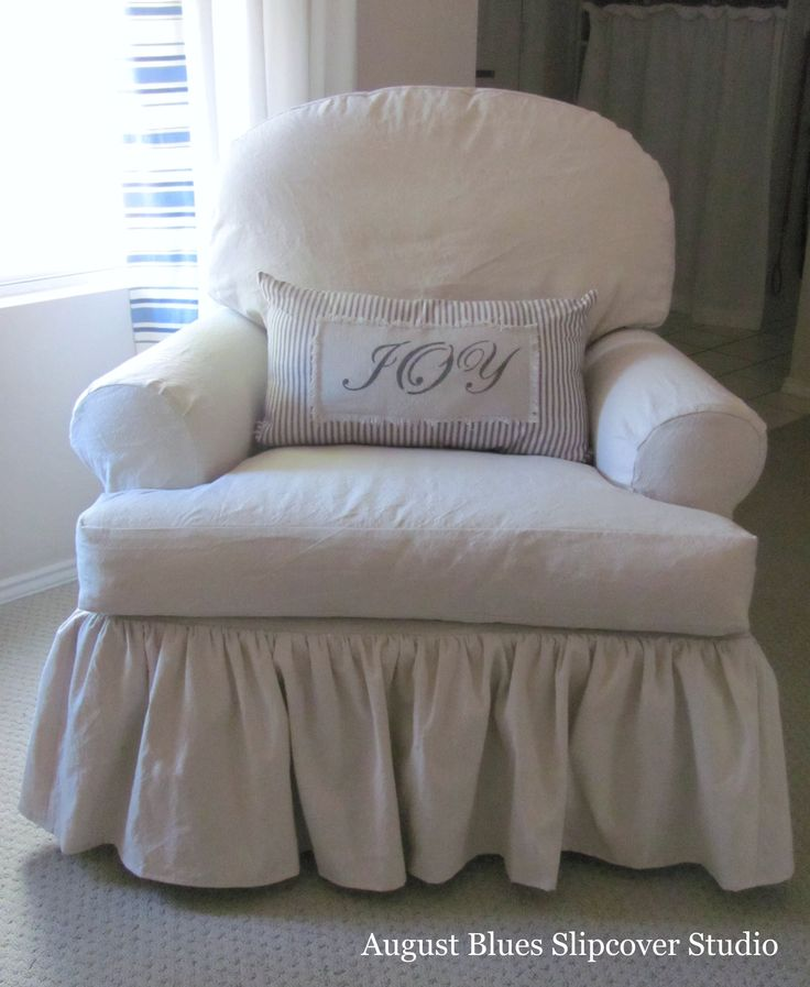 Shabby Chic Slipcovers For Loveseats | Lovely Antique Rocking Chair With A  Dropcloth Slipcover (and Part 31
