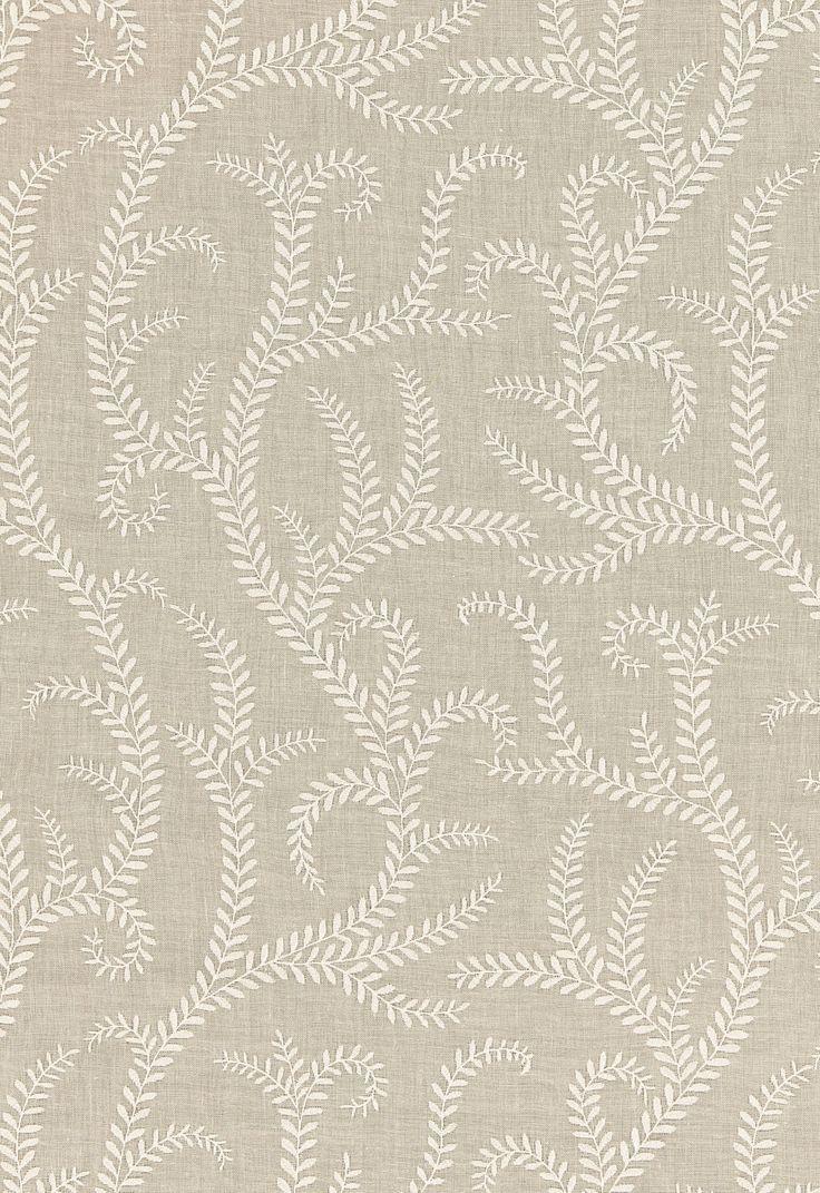 Boboli Embroidery in Linen, 67761. http://www.fschumacher.com/search/ProductDetail.aspx?sku=67761 #Schumacher