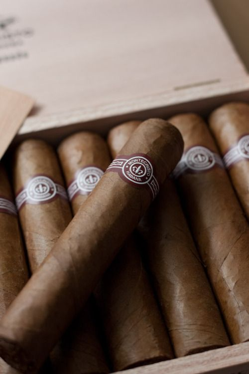 Montecristo, Habana. I used to smoke cigars with my dad - sweet memories! - Astrid
