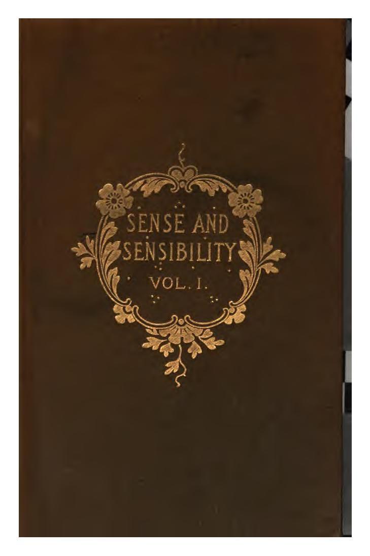 Sense u0026 Sensibility By Jane Austen