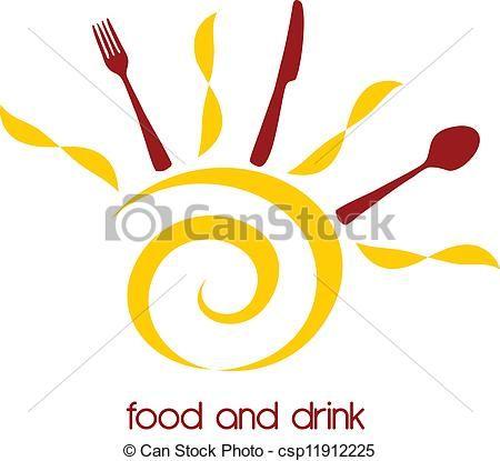 sun with cutlery logo - Google Search