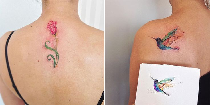 Delicate Feminine Tattoos of Beauty by Lays Alencar – Sortra