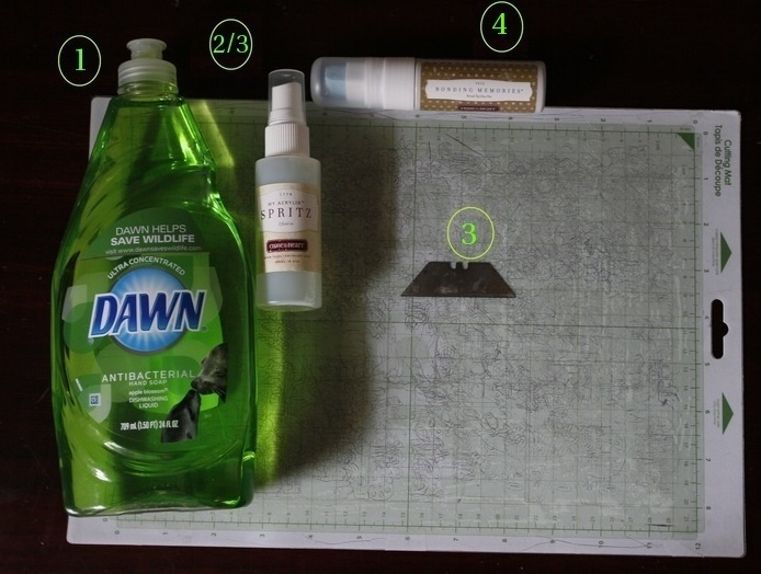 1 Soak Your Cricut Mat In Warm Soapy Water 5 10 Minutes