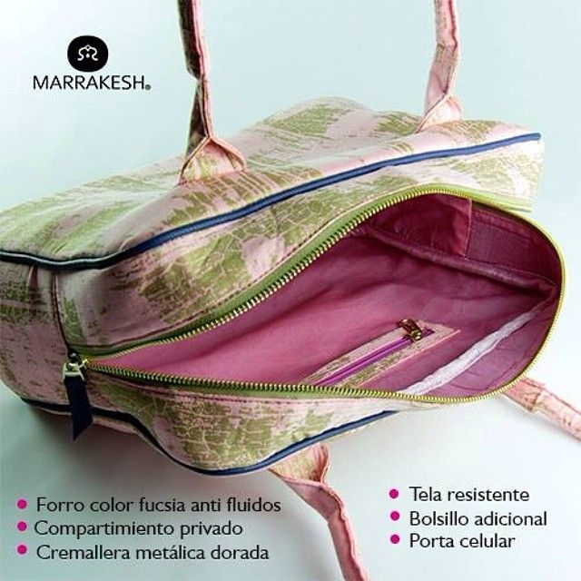 ¿Te has preguntado qué tiene nuestro nuevo Satchel pink de Marrakesh® por dentro?