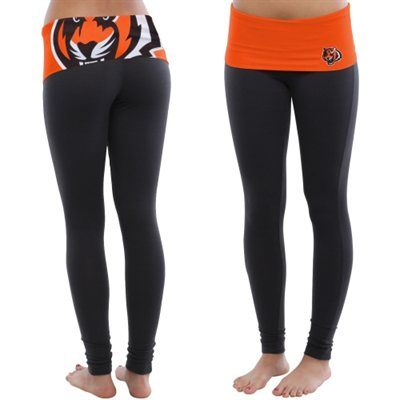Cincinnati Bengals Women's Sublime Knit Legging – Black