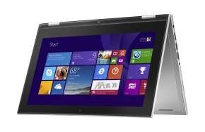 The Dell Inspiron 11 Touchscreen 2 in 1 has a 360-degree hinge that lets you position it however you want to interact with content however you choose.