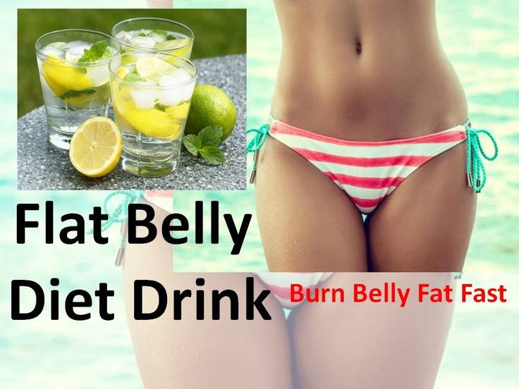 Flat Belly Diet Drink - How to Loose Belly Fat with Detox ...
