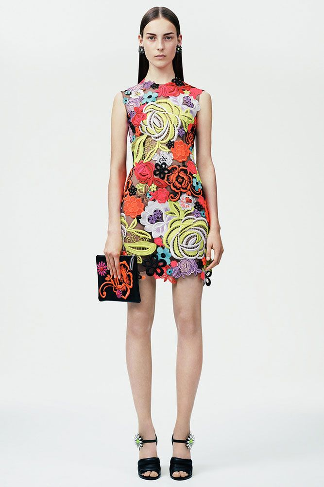 New Trendy Christopher Kane Multicolor Archive Print Dress For Women Selling Well