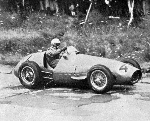 #4 Piero Taruffi (I) - Ferrari 625 (Ferrari 4) 6 (13) Scuderia Ferrari
