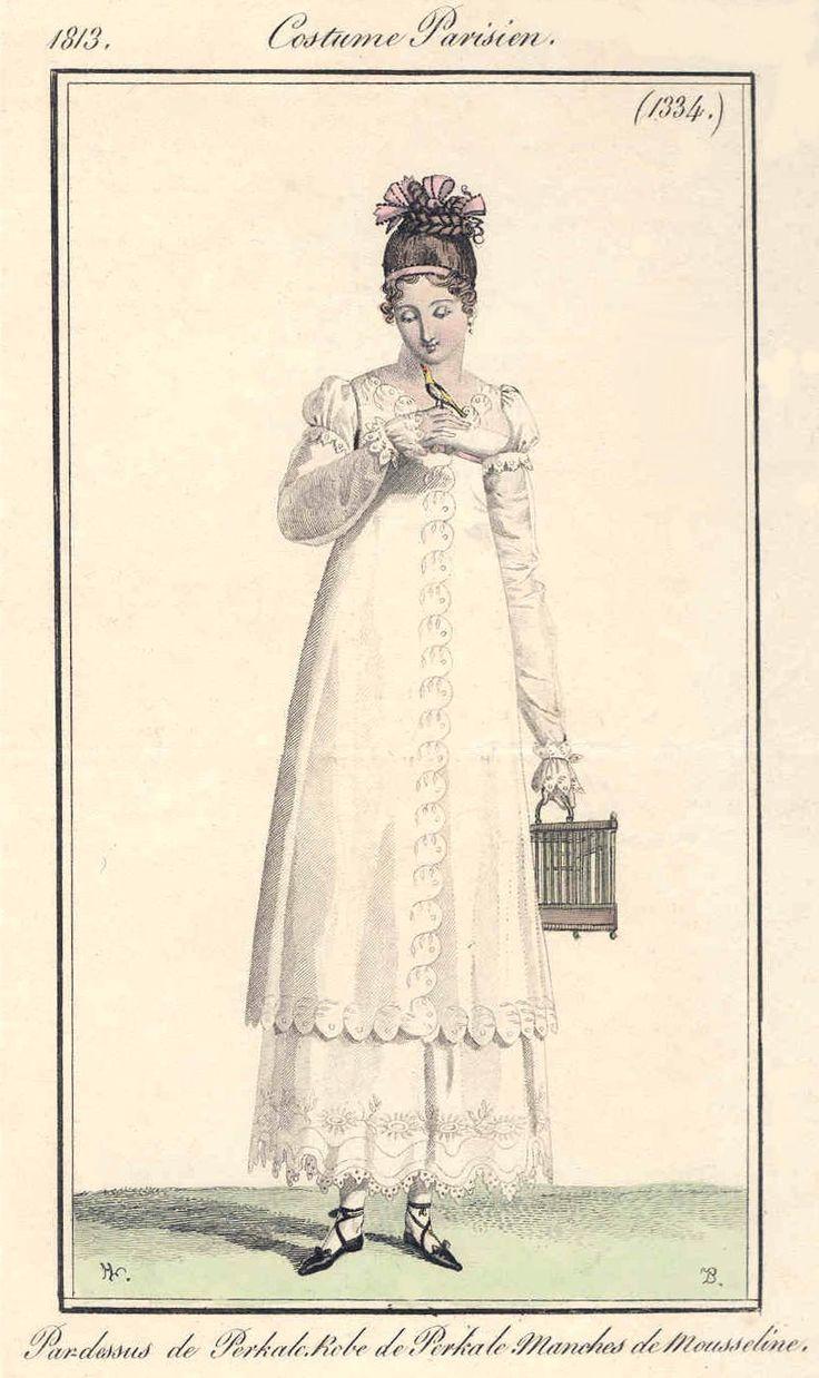Regency fashion plate the secret dreamworld of a jane austen fan - Regency Dresses And Outerwear Patterns