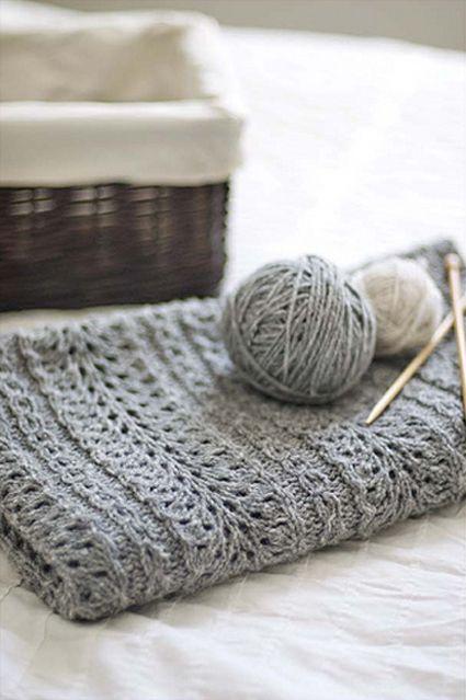 Love this knitting stitch pattern
