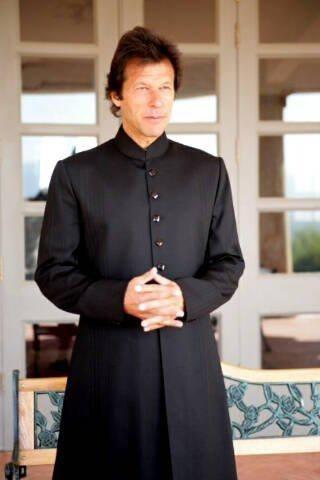 Imran Khan. Next PM of Pakistan.