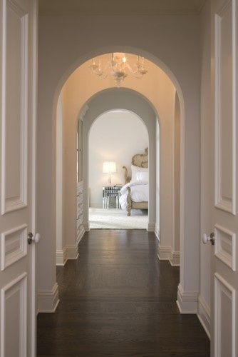 """This is exactly the hallway of """"my dreams""""...and hardwood floors to boot! It just says cozy to me..."""