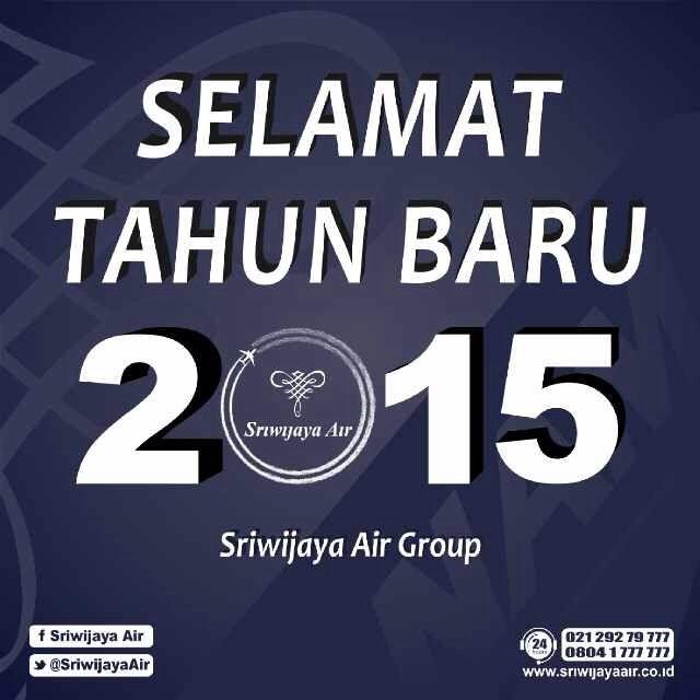 Selamat Tahun Baru 2015! | Sriwijaya Air - Your Flying Partner