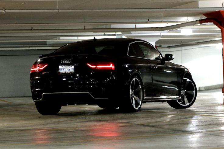 Audi Rs5 Black 2013 Audi Rs5 Rear 1 4 Favorite Cars